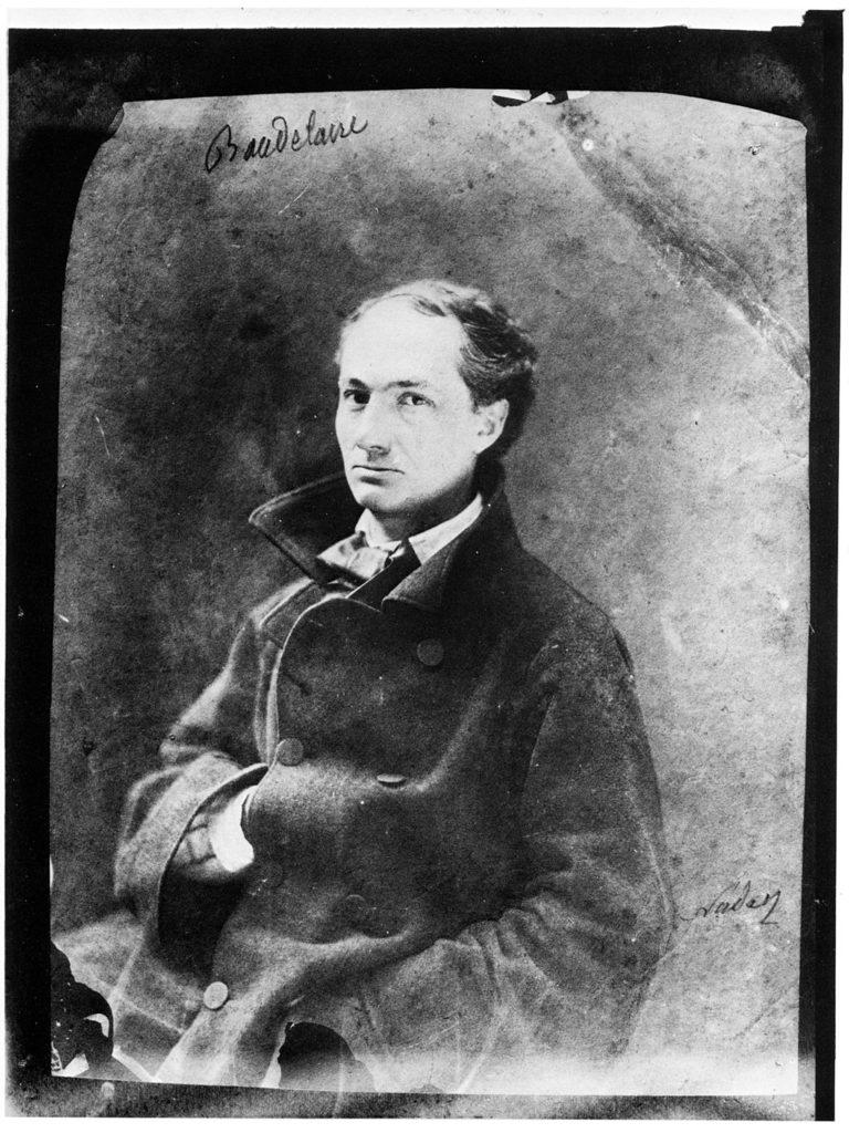 Baudelaire, aufgenommen von Nadar