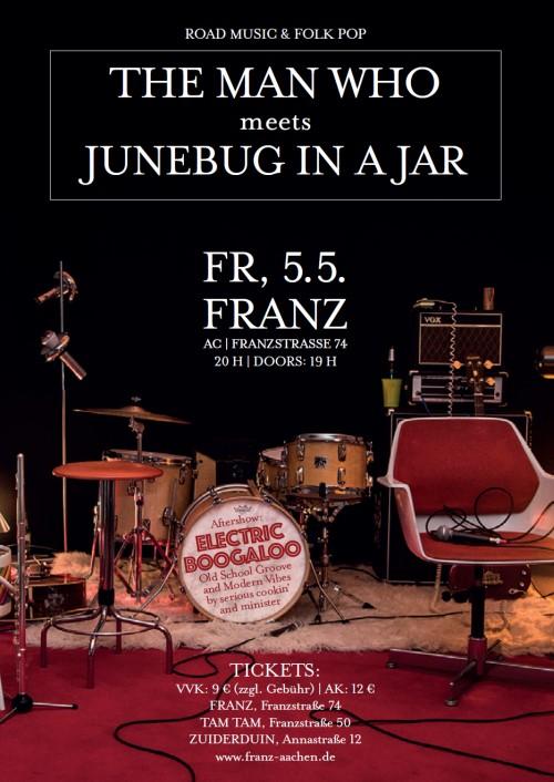 Electric Boogaloo * 05.05.2017 * Franz * Aachen