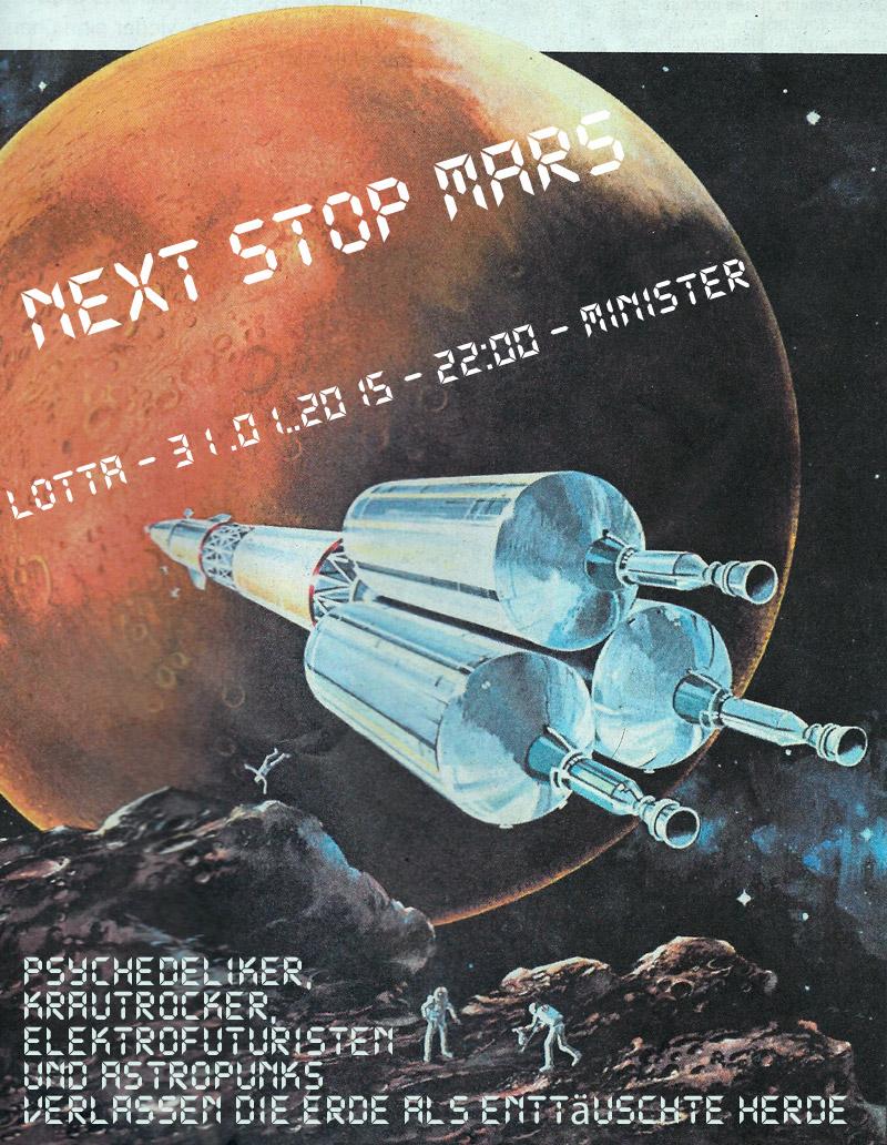 NEXT STOP MARS - 31.01.2015 - LOTTA - MINISTER