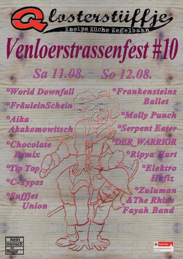 Venloer Strassenfest #10 2018 Qlosterstüffje